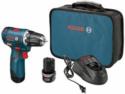 Bosch12 V Max Cordless Lithium-Ion 3/8 in  Brushless  Drill