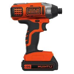 20-Volt MAX Lithium-Ion Cordless Impact Driver with Battery