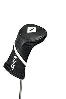 PING 2018 Leather Driver Headcover - Black