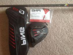 2019 Ping G410 Plus 9* Driver New Never Hit HZRDOUS SMOKE ST