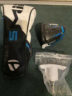 2021 TaylorMade SIM2 9* Driver & Headcover & Tool Only!