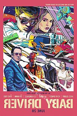 Posters USA - Baby Driver Movie Poster GLOSSY FINISH - FIL55