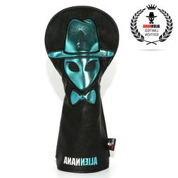 Alien Black Golf Driver Headcover Head Cover 460cc Thick Pu
