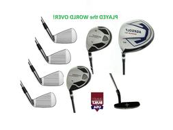 ALL SIZES! AGXGOLF MENS EXECUTIVE GOLF SET DRIVER+FW WOOD+HY