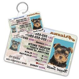 Arizona Driver License Custom Dog Tag for Pets and Wallet Ca