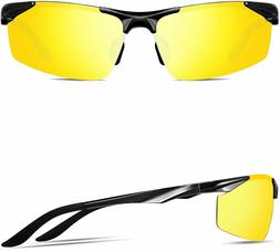 ATTCL Men's Sports Polarized Sunglasses Driver Golf Fishing