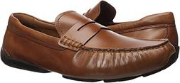 Cole Haan Men's Branson Penny Driver Loafer, British tan, 12