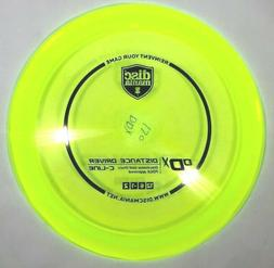 Discmania C-Line DDX Distance Driver disc 170g - Yellow with