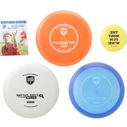 Discmania Complete Disc Golf Variety Set - Driver, Mid-Range
