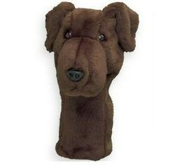 Daphne's Chocolate Lab Headcover Driver Golf Head Cover