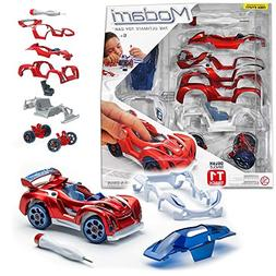 Modarri Delux T1 Track Car Red | Stem Educational Toy Cars |