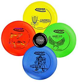 disc golf dx starter set 160-175g - colors may vary