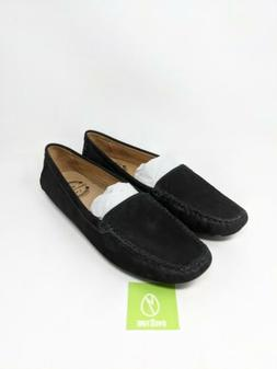 Driver Club USA Women's Leather Hampton Loafer Driving Style