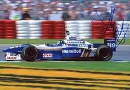 F1 DRIVER Damon Hill autograph WORLD CHAMPION, In-Person sig