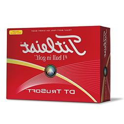 Titleist DT TruSoft Yellow Low Compression Golf Balls