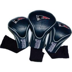 New England Patriots NFL 3 Pack Contour Fit Headcover
