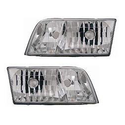 1998-2006 Ford Crown Victoria Headlight Assembly  - One Pair