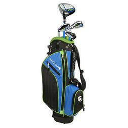 Orlimar Golf ATS Junior Boy's Blue/Lime Kids Golf Set