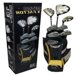Golf Clubs Set For Men 13 Piece Pro Style Putter Driver Wood