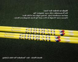 Project X Golf HAND-CRAFTED HZRDUS Yellow Driver Shaft W/Ada
