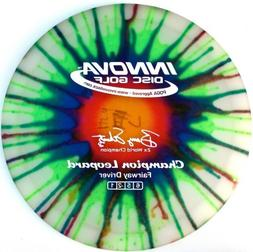 Innova Disc Golf I-Dye Champion Leopard Golf Disc, 170-172gm