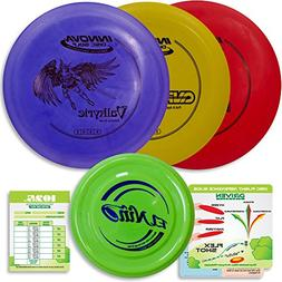 Innova Disc Golf Starter Set | 3 Beginner Discs - DX Putter,