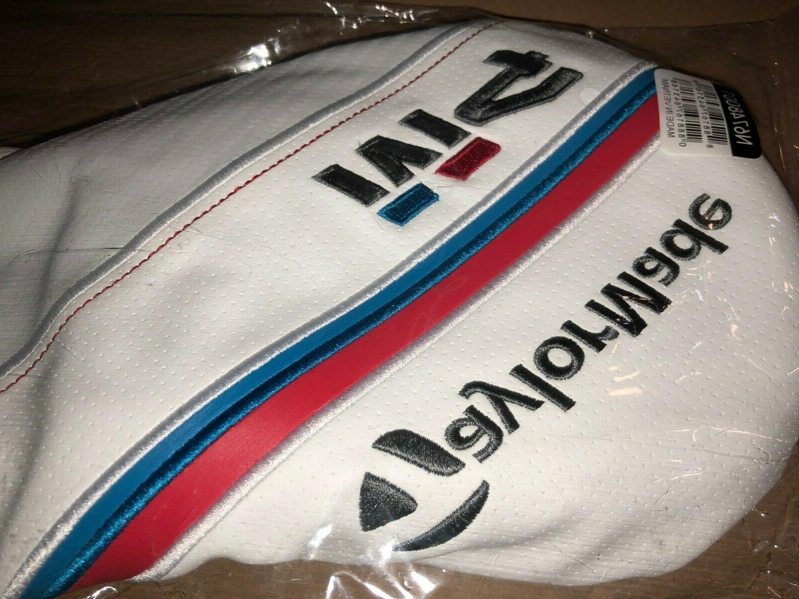 TaylorMade M4 White/Red/Blue Headcover