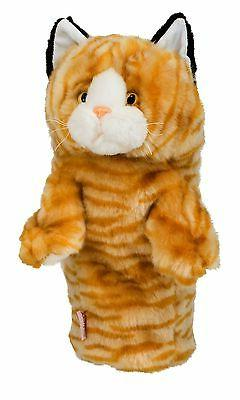 Calico Tabby Cat Golf Animal Headcover Driver Head Cover Dap