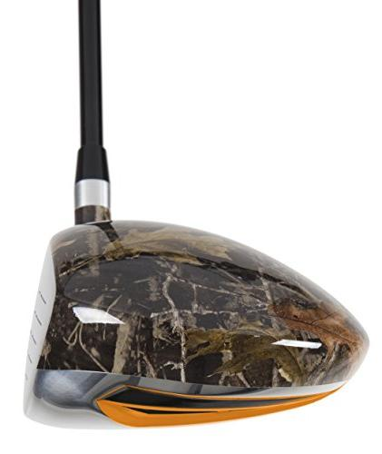 Pinemeadow Golf W7X Camo Hand, 10-Degree, Regular