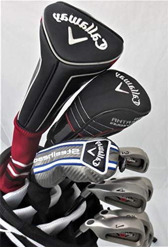 Callaway Set Driver, Fairway Hybrid, Putter Stand Regular