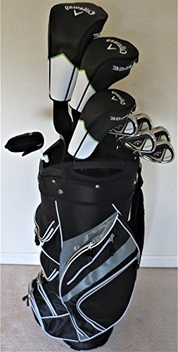 Callaway Mens Complete Golf Set - Driver, Wood, Hybrid, Iron