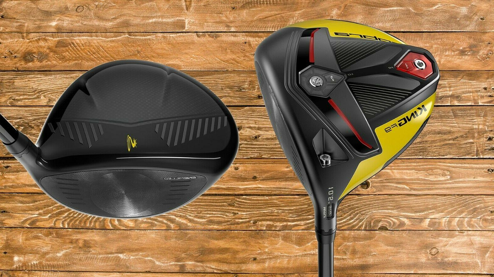 Cobra Golf Speedback Driver Black-Yellow (Men's Right