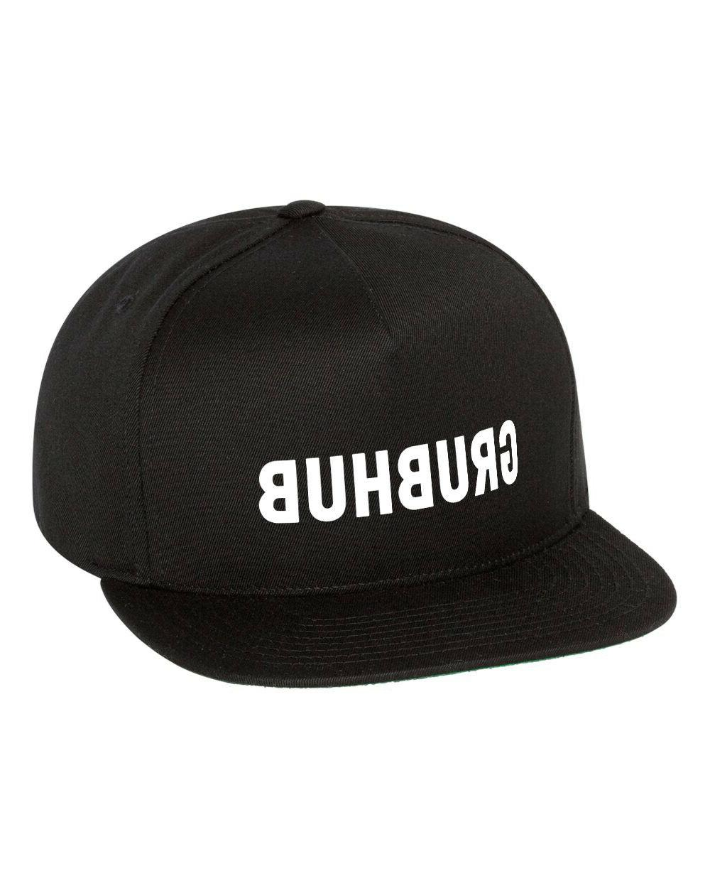 grubhub food delivery driver snapback hat cap