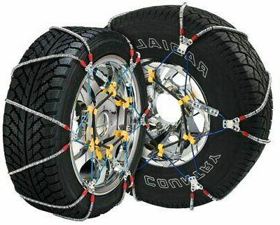 Heavy Duty Cable Tire Chain for Passenger Cars Pickups and S