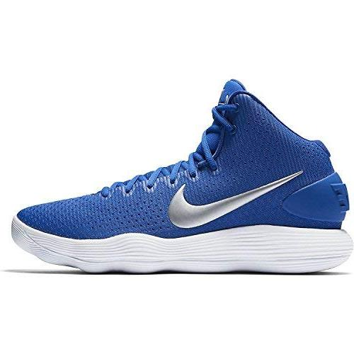 hyperdunk basketball royal blue silver