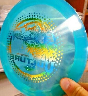 limited edition cryztal vulture driver 172g turq