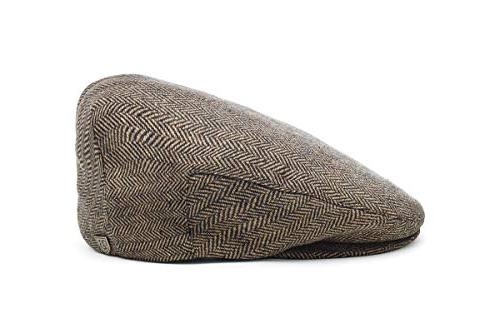 men s hooligan driver snap hat brown