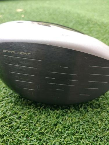 MINT TaylorMade M4 Driver 9.5* loft - LH Left Handed HEAD ONLY