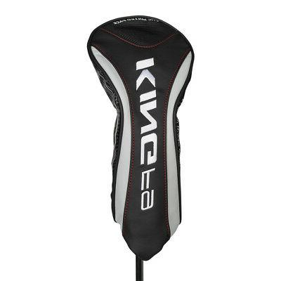new king f9 black silver driver headcover