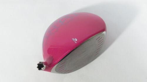 New! CELL PINK ADJUSTABLE 10.5* DRIVER -Head Only-