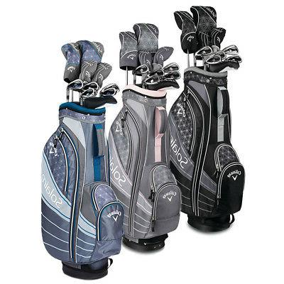 new lady solaire 18 complete golf set