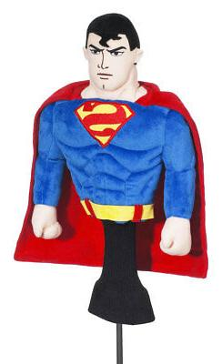 """New """"Superman"""" Creative Covers for Golf Driver Headcover"""