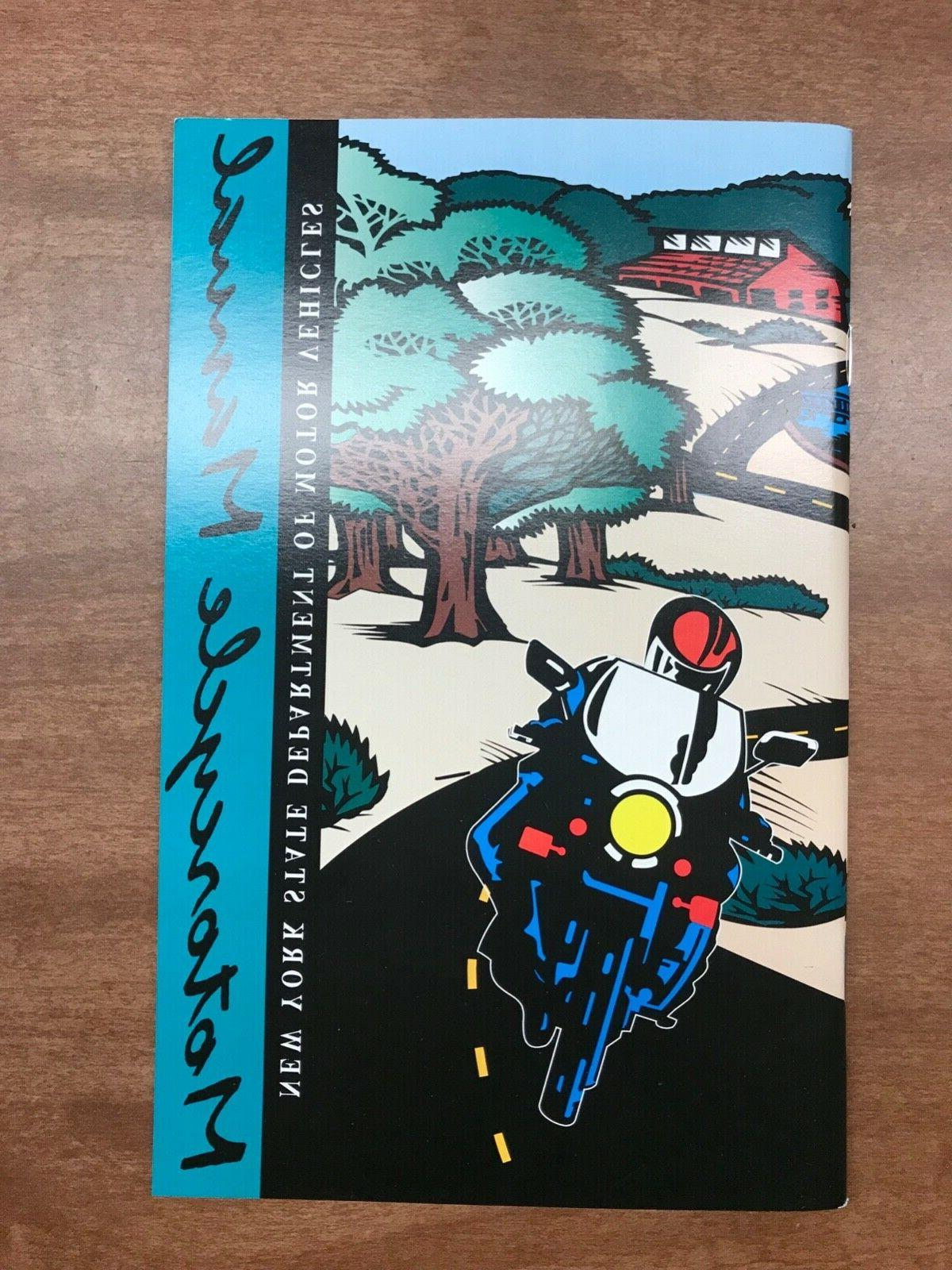New York State Motorcycle Driver's Manual   Educational Book