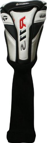 Taylor Made R11S Fairway Wood Headcover Wht/Blk/Red Golf Clu