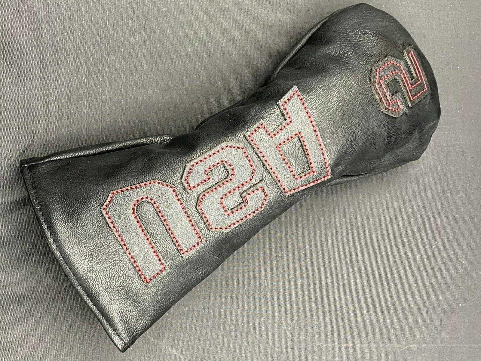 USA Leather Head Cover Headcover Driver Blade Putter