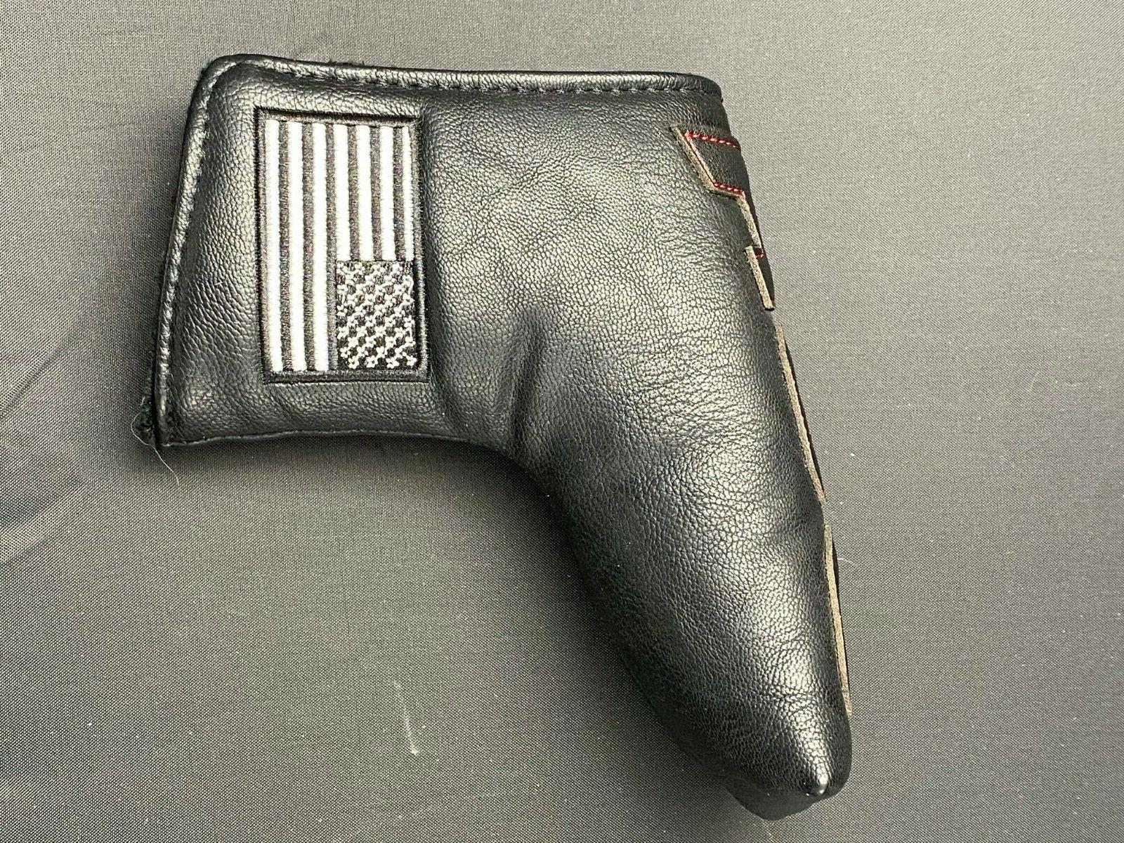 USA Leather Club Head for Driver Putter
