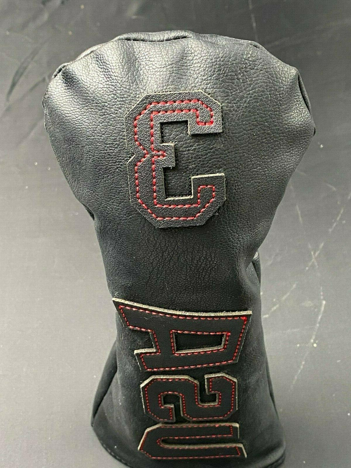 USA Leather Golf Head Cover Putter