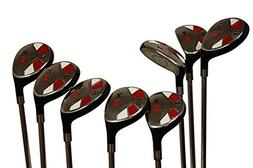 Senior Men's Majek Golf All Hybrid Complete Full Set, whic