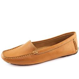 Driver Club USA Womens Leather Made in Brazil Hampton Loafer