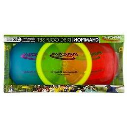 Innova Champion Material Disc Golf, Set of 3